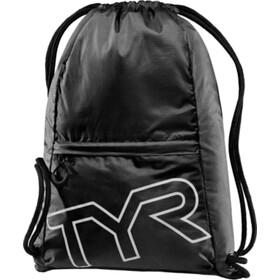 TYR Draw String Backpack black